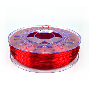 1.75mm PETG Translucent Red 0.75kg