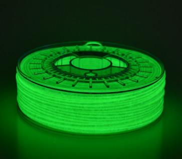 1.75mm PLA Glowing Green 0.75kg